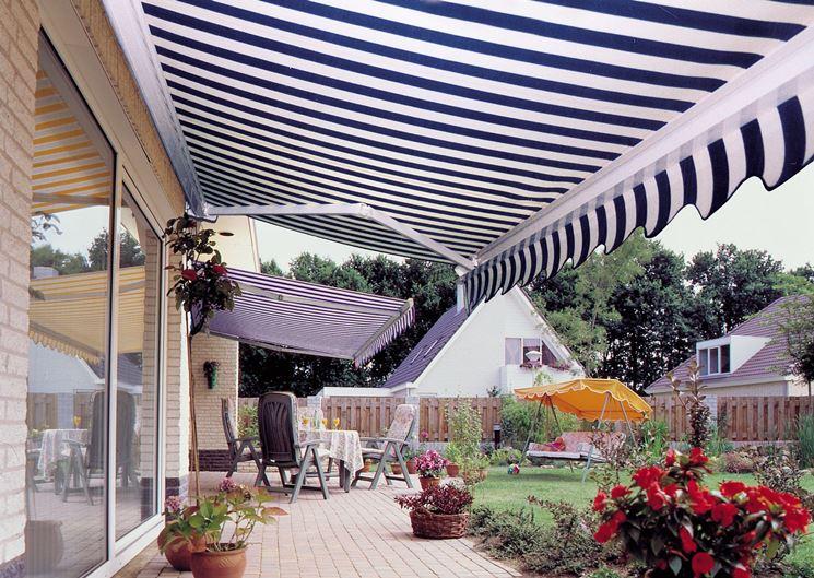 Tende da sole per terrazzi e giardini