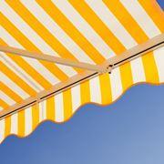 Struttura estensibile con tenda