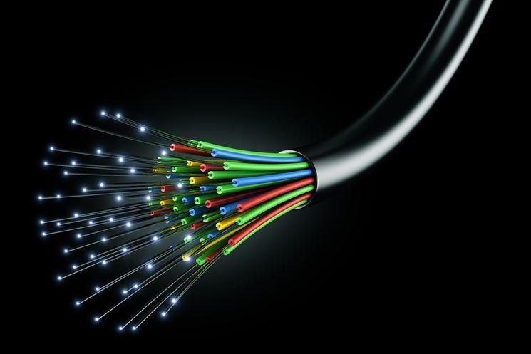 Cablaggio in fibra ottica