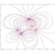 Immagine raffigurante alcune campi elettromagnetici