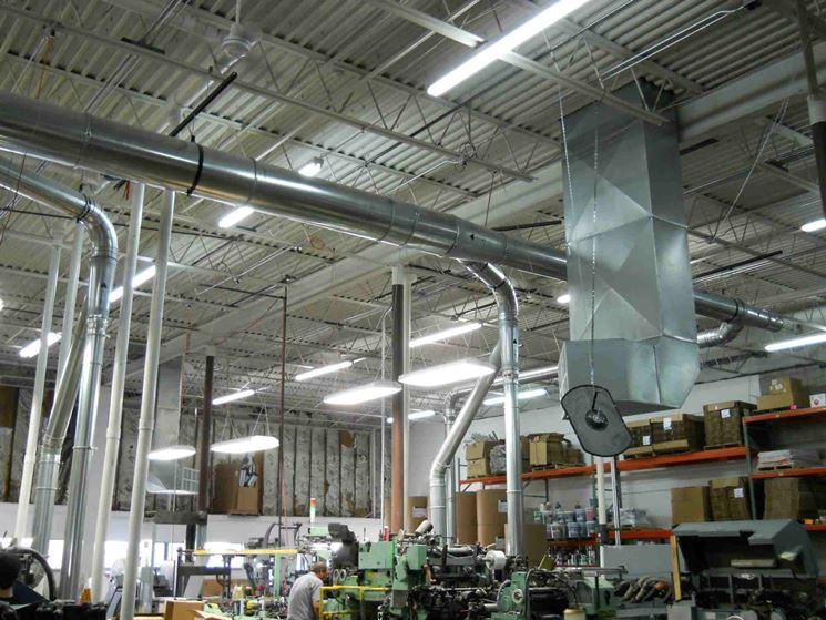 Impianti ad aria in ambiente di lavoro