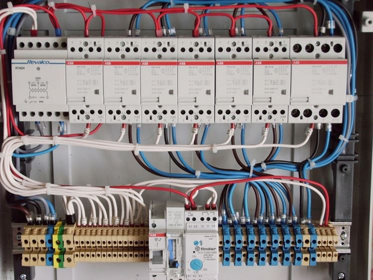 Schemi Elettrici Per Impianti Industriali : Impianto elettrico elettricista fai da te