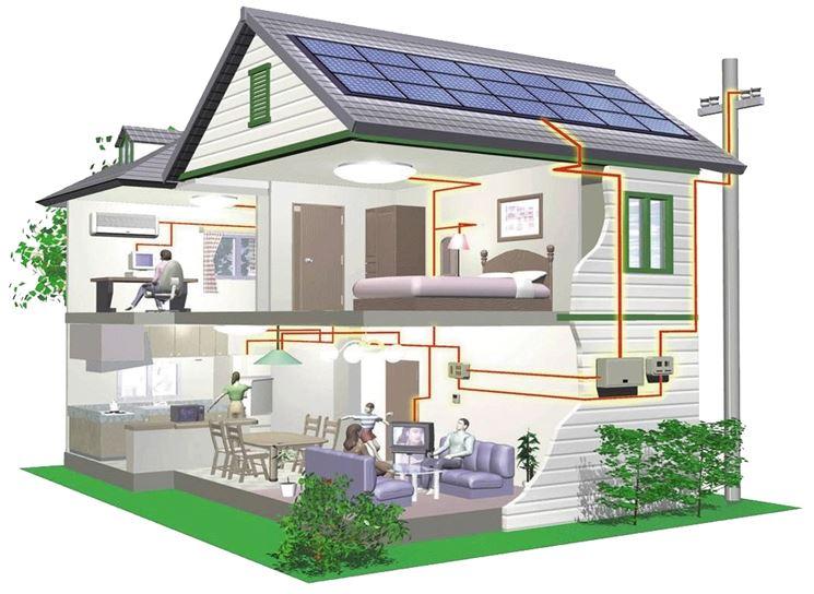 Impianto elettrico di una casa