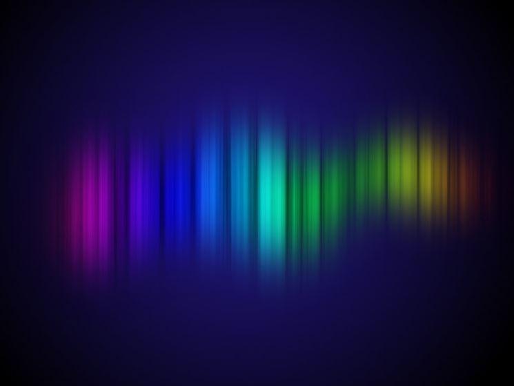 spettro della luce visibile