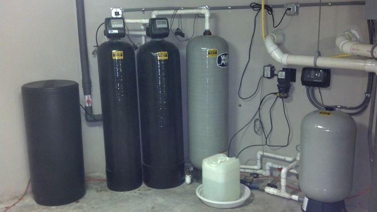 Addolcitore acqua - Idraulico fai da te - Utilizzo addolcitore acqua
