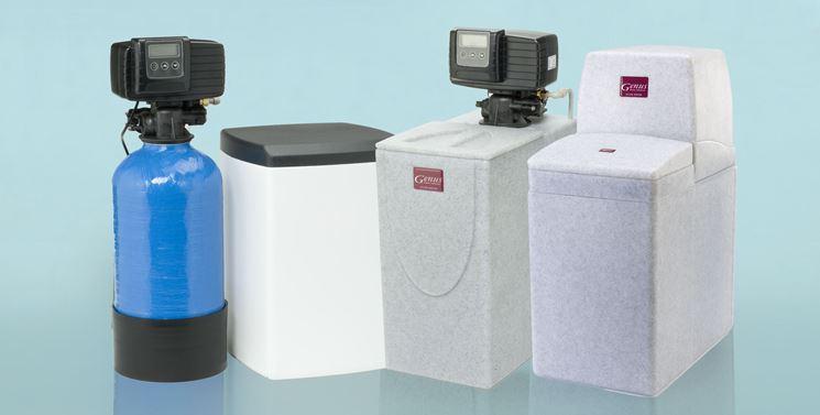 Dispositivi addolcitori per acqua
