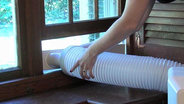 Tubo flessibile condizionatore