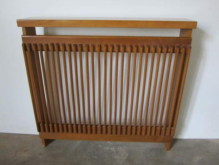 copritermosifone in legno