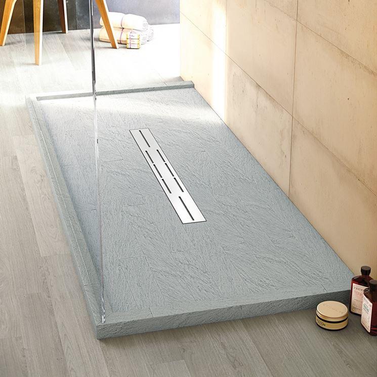 Piatti doccia cemento for - Posare un piatto doccia ...