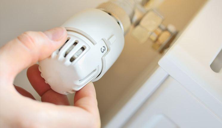 valvola termostatica radiatore