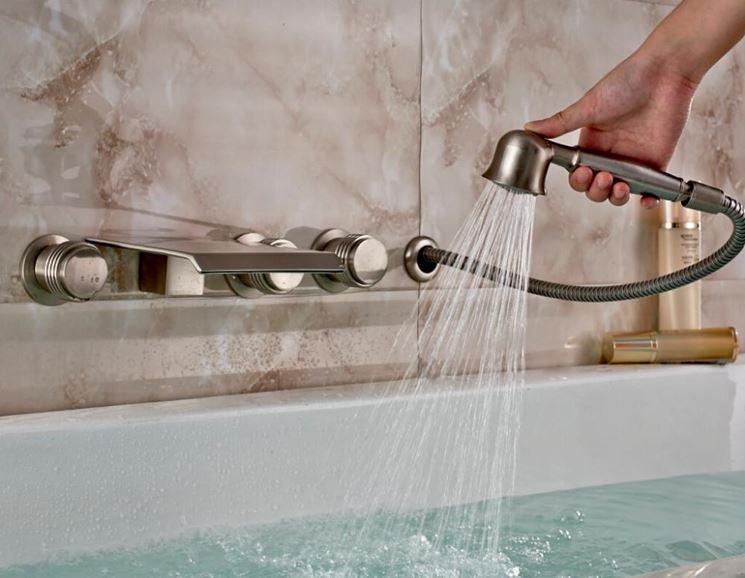 Rubinetto vasca bagno