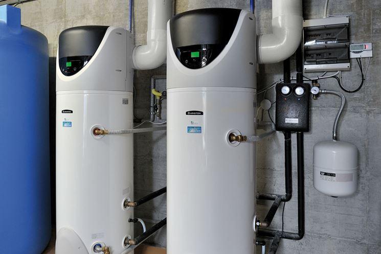Pompa di calore acqua/acqua