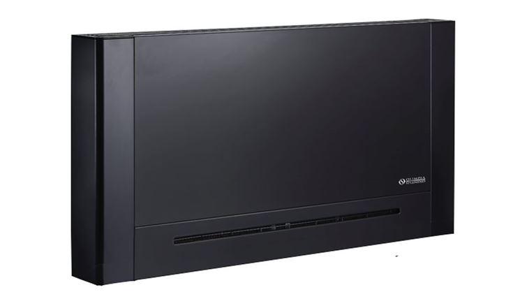 Ventilconvettore di colore nero