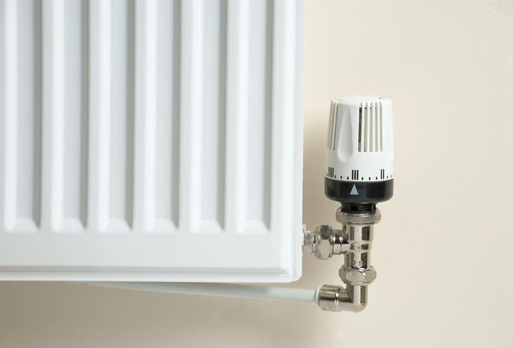 Manopola di regolazione della valvola termostatica