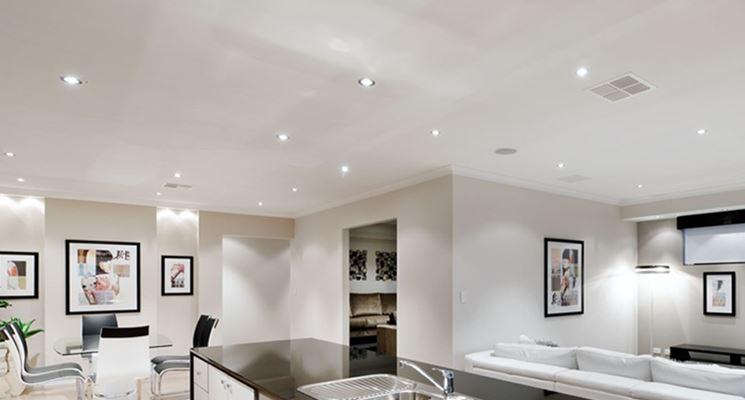 Faretti led - Illuminazione della casa - Installazione faretti led