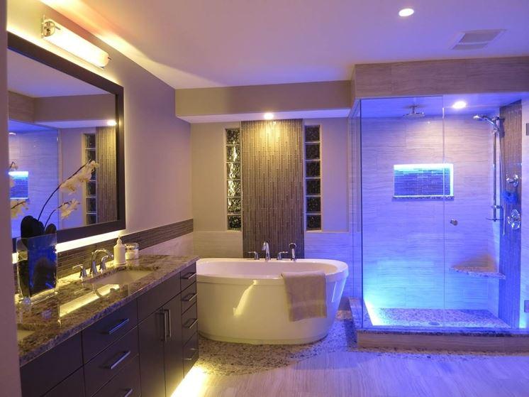illuminazione led bagno  canlic for ., Disegni interni