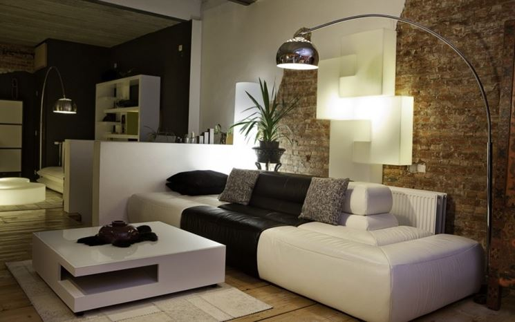 Illuminazione moderna per interni