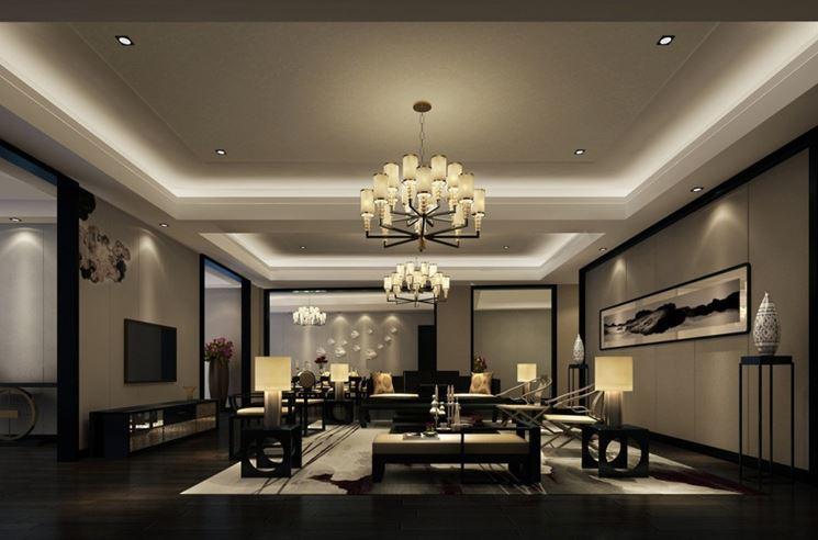 Illuminazione moderna per interni illuminazione della for Interni casa moderna