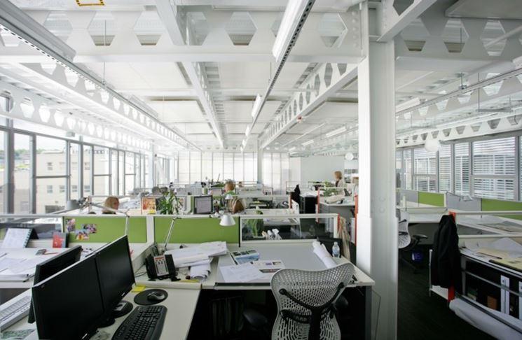 Ufficio illuminazione