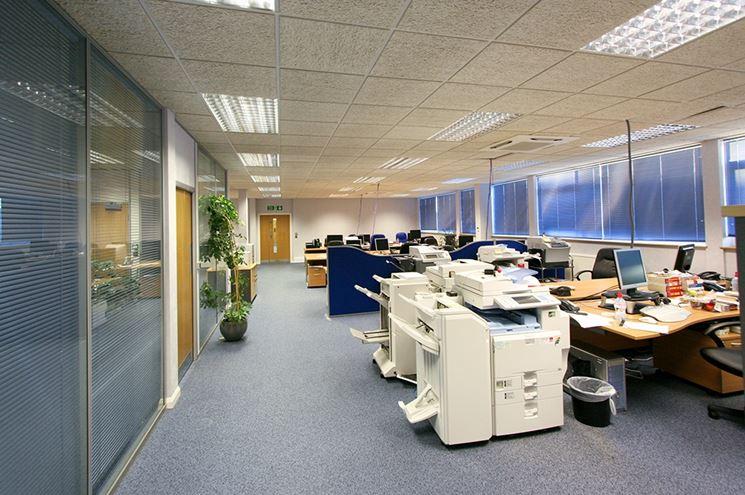 Illuminazione ufficio con led
