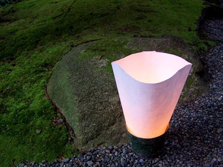 Lampada vialetto