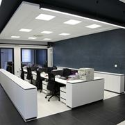 illuminazione ufficio a soffitto