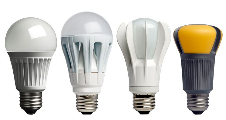 Lampade a led di vari tipi