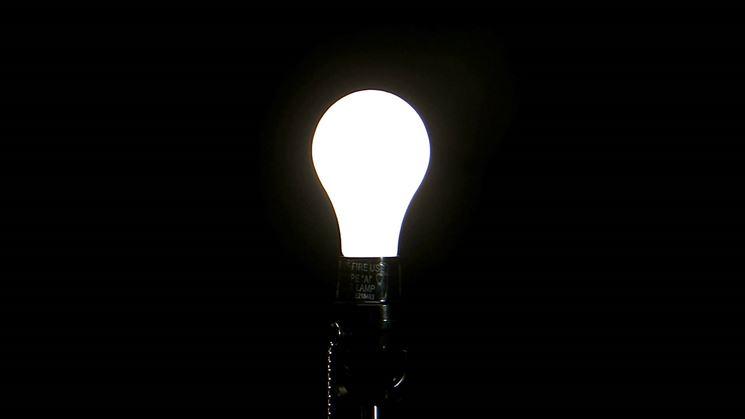 Classica lampada a led