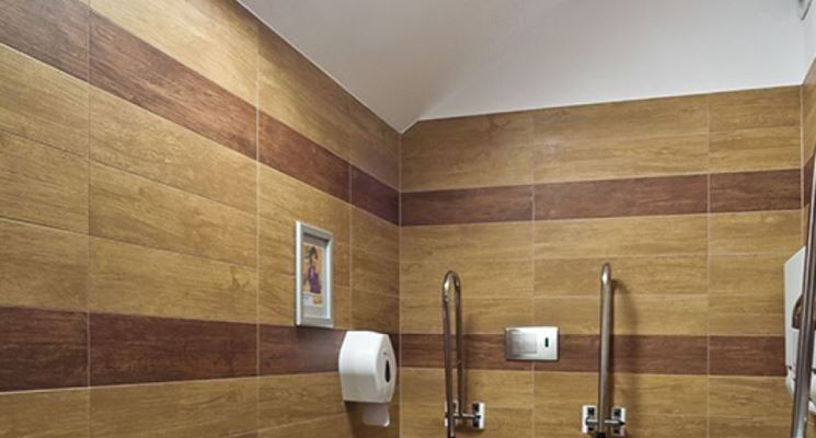 Lucernario tubolare in bagno