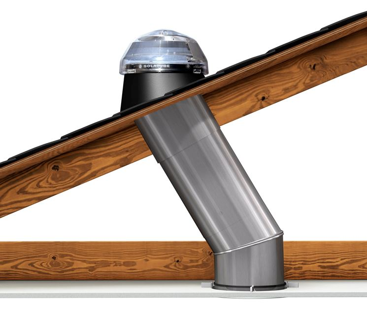 Esempio di lucernario tubolare