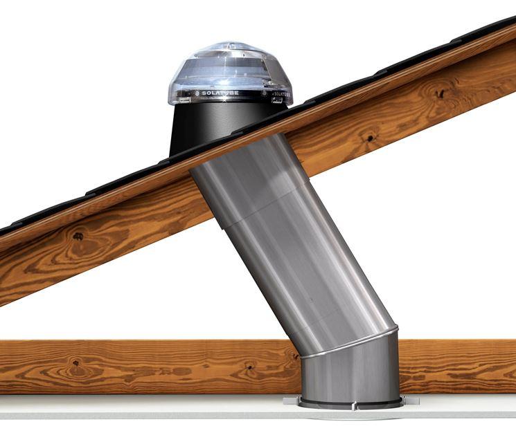Lucernari tubolari illuminazione della casa for Luci tubolari a led