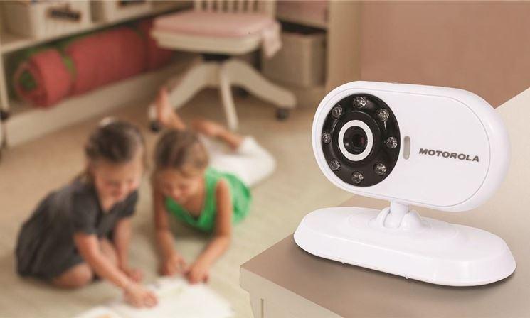 Telecamera controllo bambini