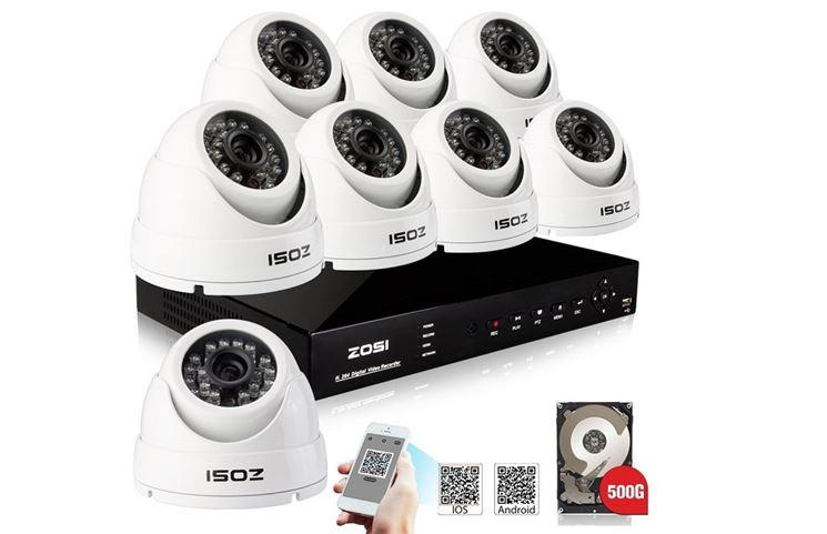 Impianto di videosorveglianza per la sicurezza casa