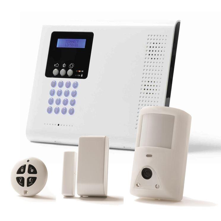 componenti sistema allarme