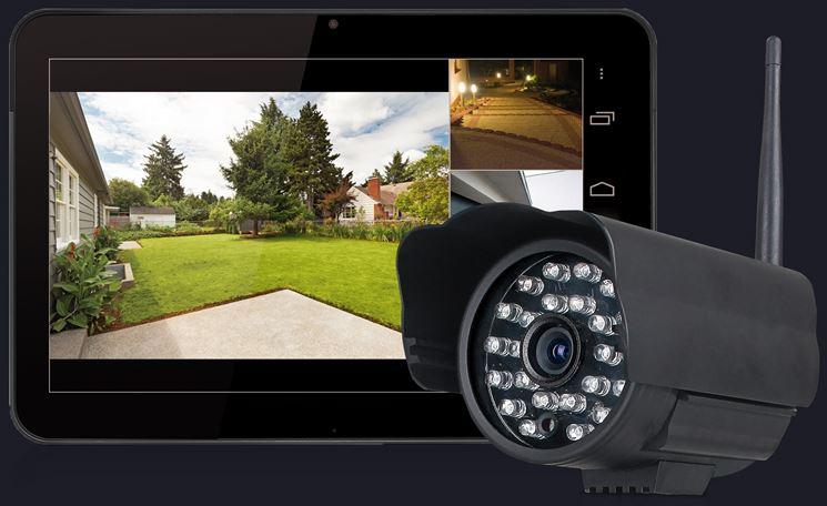 Telecamera ip di videosorveglianza