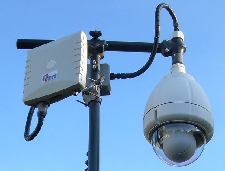 Una telecamera wireless di tipo dome