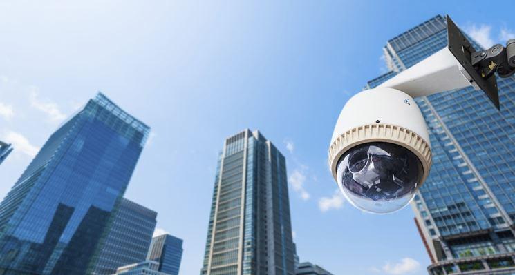Telecamera per videosorveglianza ip