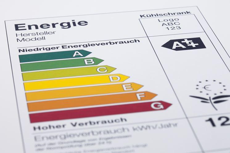 Scala classificazione energetica