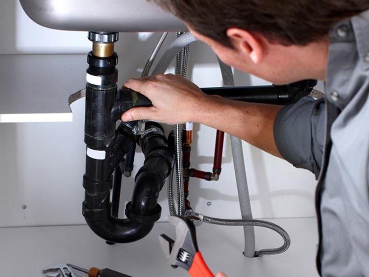 Lavori su impianto idrico
