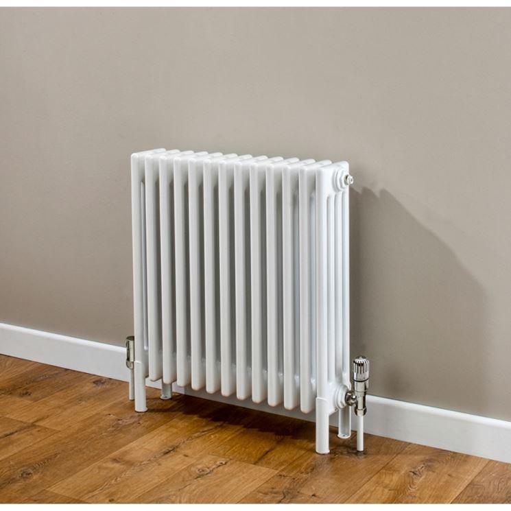 Termoregolazione con riscaldamento a radiatori