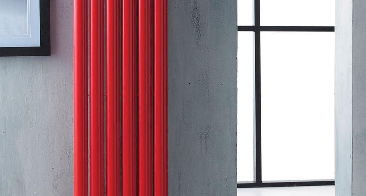 Radiatori elettrici in vetro colorato