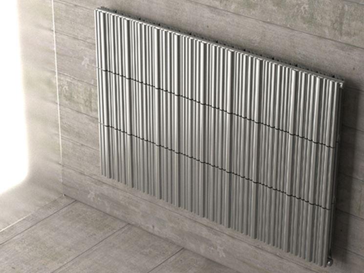 Un esempio di radiatore di design