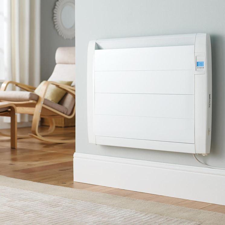 Un tipo di radiatore elettrico