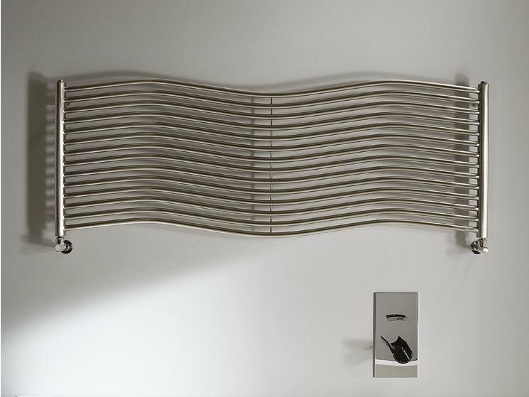Radiatore orizzontale di design