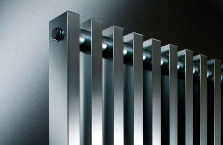 Elegante radiatore in alluminio
