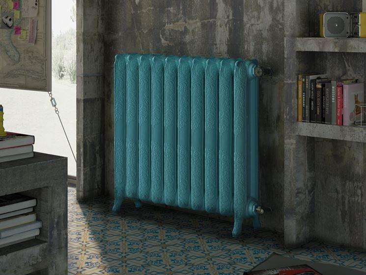 Radiatori riscaldamento caratteristiche dei termosifoni for Termosifoni in alluminio usati