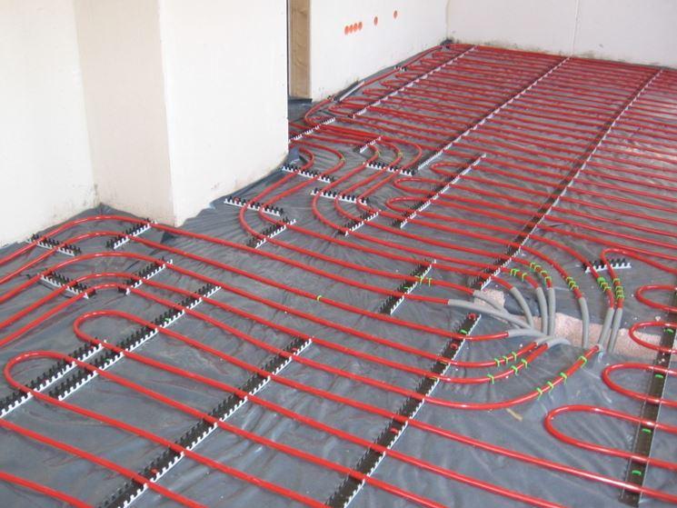 Tecnologia riscaldare pavimento