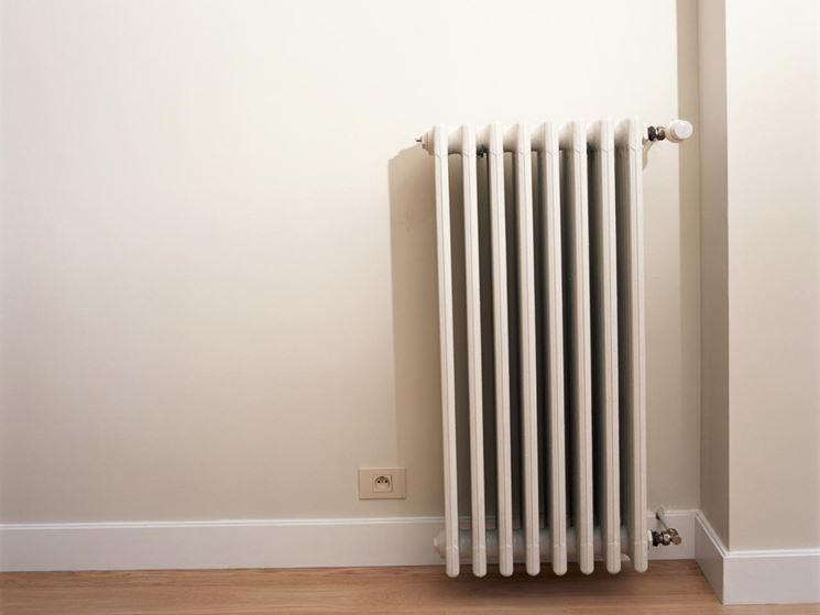 Esempio di termosifoni aria