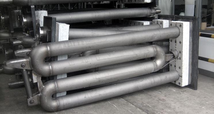 Il circuito dei tubi radianti