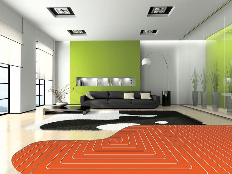 Tubi radianti pavimento